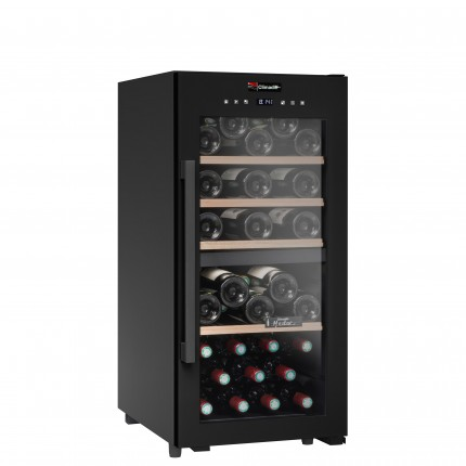 Vinoteca 41 botellas CD41B1 doble zona temperatura