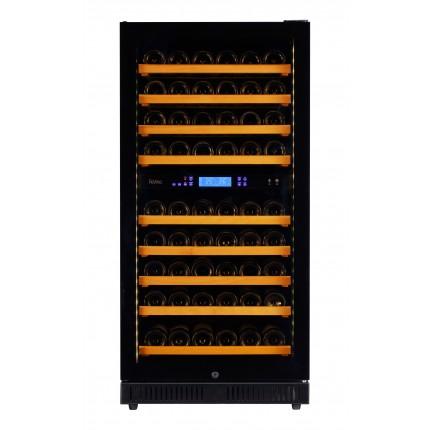 vinoteca-90-botellas-pevino-p80s-hhb negro multitemperatura