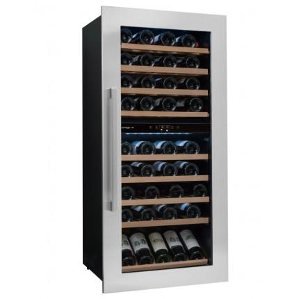 Vinoteca Avintage 79 botellas AVI81XDZA encastrable columna doble zona temperatura