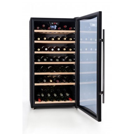 vinoteca 78 botellas Cavanova CV080T abierta llena