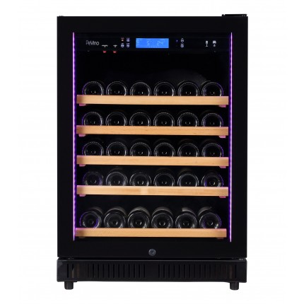 vinoteca pevino 46 botellas p46s-hhb negro