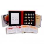 Libro 24 aromas Dúo Tintos y Blancos Le Nez du Vin caja y libro