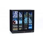 Mueble expositor de bebidas, vinos y cavas Cavanova 200 litros FB03 abierta
