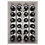 Botellero en columna Godello Canedo 24 botellas EW2014 - 2