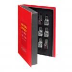 Libro 12 aromas vinos tintos Le Nez du Vin caja