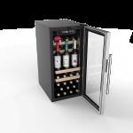 Vinoteca ls38A la sommeliere 38 botellas abierta