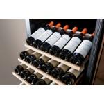 Vinoteca 100 botellas PRO97MA negro bandejas
