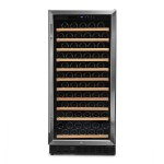 Vinoteca Vinobox 110 botellas 110GC 1T Inox frontal cerrada