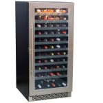 vinoteca 112 botellas cavanova CV120T abierta