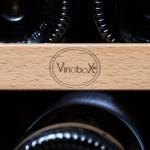 Vinoteca Vinobox 168 botellas 168GC 2T Inox detalle bandeja