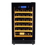 Vinoteca Pevino 24 botellas P22S-HHB Negro frontal