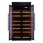 vinoteca-320-botellas-pevino-h320f-2t-b-negro-luz