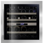 Vinoteca encastrable 34 botellas LB340 inox