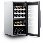 Vinoteca 41 botellas  Climadiff CLS41MT abierta llena