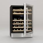 Vinoteca 46 botellas Cavist CAVCD46 abierta