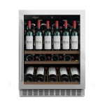 Vinoteca 46 botellas mQuvée WineCave 700 60SI frontal