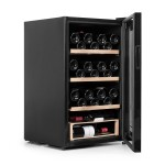 Vinoteca Vinobox 48 botellas 48 Pro lateral abierta