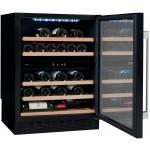 Vinoteca 50 botellas Avintage AVU53CDZA lateral puerta abierta