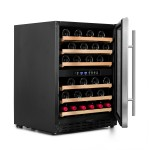 Vinoteca Vinobox 50 botellas 50GC 2T lateral abierta