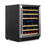 Vinoteca Vinobox 50 botellas 50GC 2T lateral cerrada