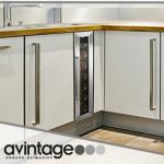 Vinoteca Avintage 7 botellas AV7X encastrable cocina blanca