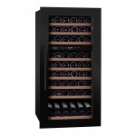 Vinoteca encastrable 70 botellas mQuvée WineKeeper 70D Anthracite Black lateral