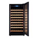 vinoteca-96-botellas-pevino-p80s-hhb negro abierta