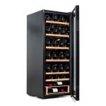 Vinoteca Vinobox 96 botellas 96 Pro lateral abierta