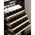 Vinoteca 97 botellas PRO91BA negro bandejas
