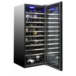 Vinoteca 98 botellas CV098C abierta