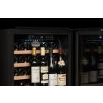 Vinoteca doble zona de temperatura para 33 botellas integrable en columna Avintage AVI63CSZA