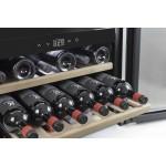 Vinoteca 18 botellas WineSafe 18 EB encastrable en columna bandejas
