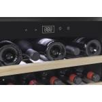 Vinoteca 18 botellas WineSafe 18 EB Black encastrable en columna bandejas
