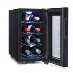 Vinoteca 8 botellas CV008NS abierta