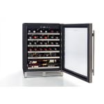 vinoteca 46 botellas cavanova CV046T. abierta llena 2