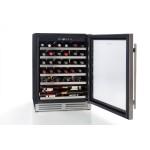 vinoteca 46 botellas cavanova CV046T. abierta llena