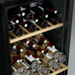 Vinoteca 122 botellas Cavist CAVIST122 interior