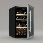 Vinoteca 62 botellas Cavist CAVIST62 abierta llena