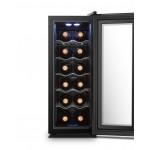 Vinoteca 12 botellas La Sommeliere Vinostyle VST12PVMFA abierta llena