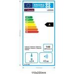 Vinoteca 23 botellas LS24A  La Sommeliere lateral energy label