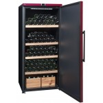 Vinoteca 265 botellas La Sommeliere VIP265P abierta llena