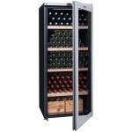 Vinoteca 265 botellas La Sommeliere VIP265V semiabierta llena