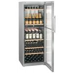 Vinoteca Liebherr WTPES5972 2 Zonas Inox 155 Botellas abierta
