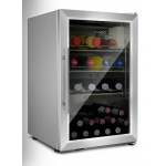 Vinoteca 30 botellas Outdoor Cooler Caso Germany llena