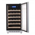 Vinoteca Pevino 24 botellas P22S-HHWN Blanco puerta abierta