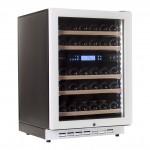 Vinoteca Pevino 38 botellas P46D-HHWN blanco doble zona temperatura