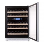 Vinoteca Pevino 38 botellas P46D-HHWN blanco doble zona temperatura abierta