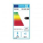 Vinoteca Pevino EVO 140 botellas PE120D-HHB Negro Multitemperatura Eficiencia Energética