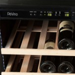Vinoteca Pevino EVO 46 botellas PE46S-HHWN Blanco - detalle interior bandeja