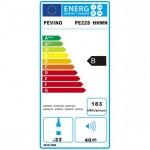 Vinoteca Pevino EVO 24 botellas PE22S-HHWN Blanco etiqueta